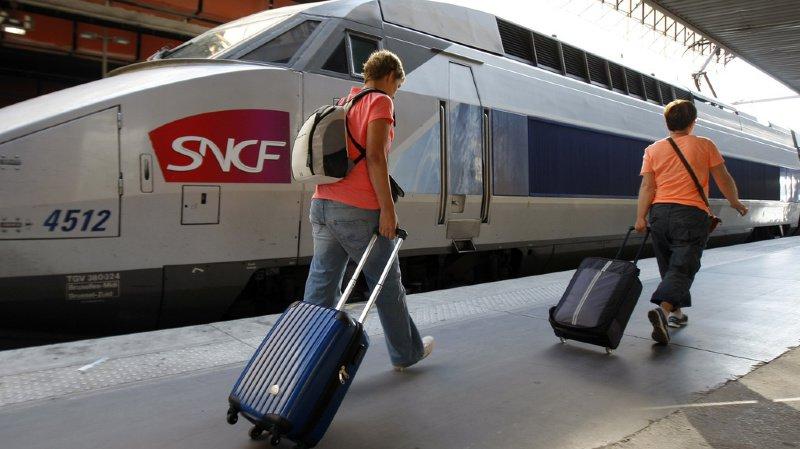 Les trains circulent selon l'horaire prévu.