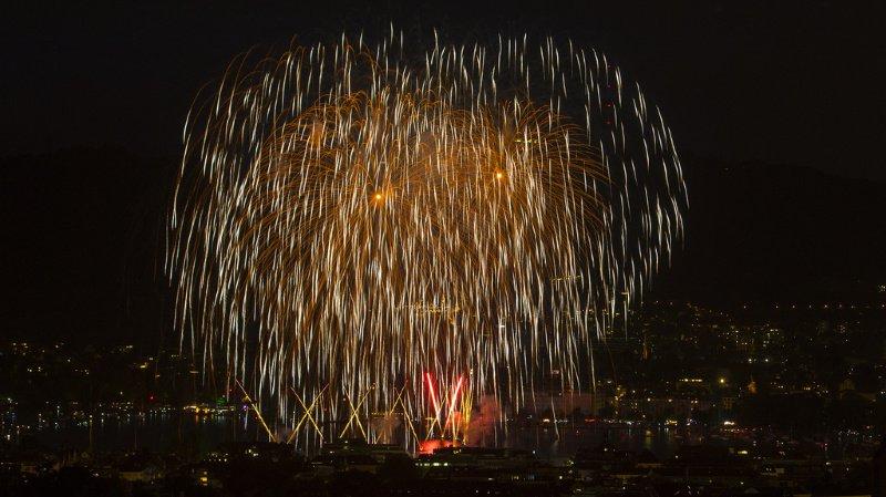 Les feux d'artifice constituent le point d'orgue de ces Fêtes de Zurich. Ils seront lancés au-dessus de la rade à la fin des trois soirées.