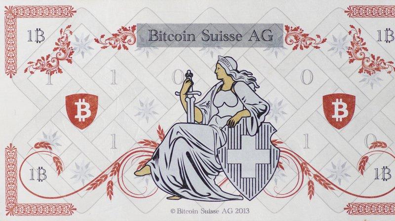 La start-up Bitcoin Suisse AG avait présenté des billets en 2018. (Archives)