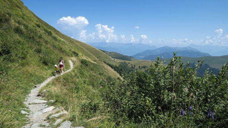 Tessin: un randonneur italien meurt sur le Monte Generoso