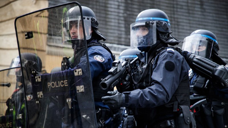 La police française a interpellé une septantaine de personnes en marge des célébrations (illustration).
