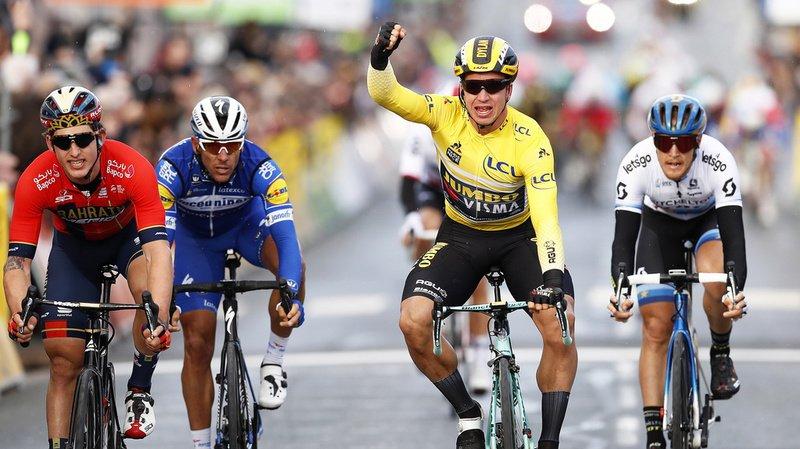 Le Néerlandais Dylan Groenewegen a remporté la 7e étape du Tour de France vendredi. (Archives)