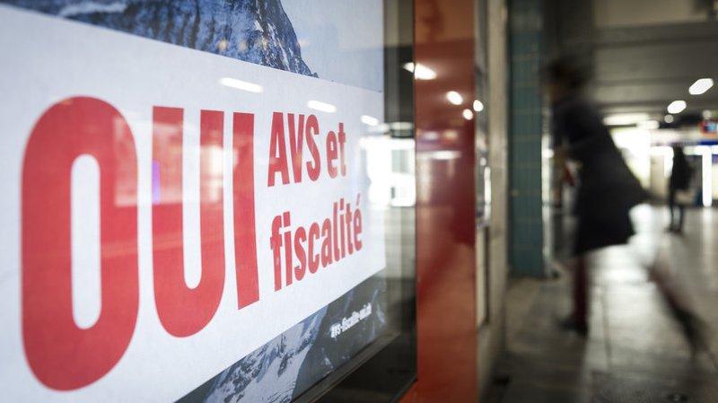 Selon l'analyse VOTO, les Suisses ont approuvé la RFFA en premier lieu pour stabiliser l'AVS. (Illustration)