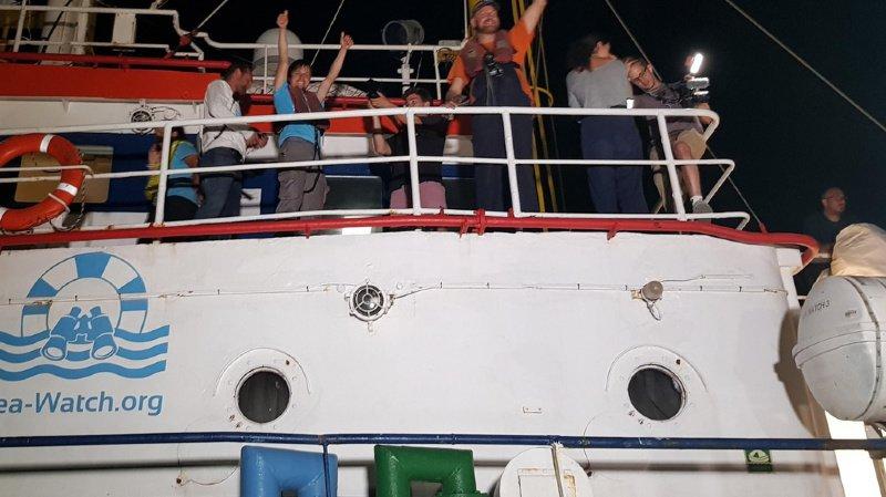 Sea-Watch: le ton monte entre Italie, France et Allemagne