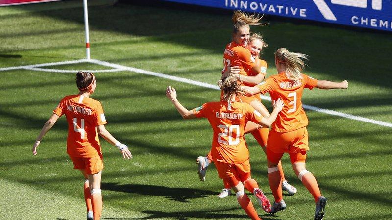 Football - Mondial féminin 2019: les Pays-Bas battent l'Italie et atteignent les demi-finales