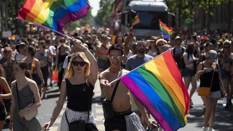 Etats-Unis: Gay Pride géante à New York pour les 50 ans de Stonewall