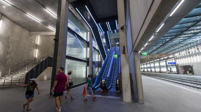 Léman Express: le chantier du CEVA s'ouvre une dernière fois au public