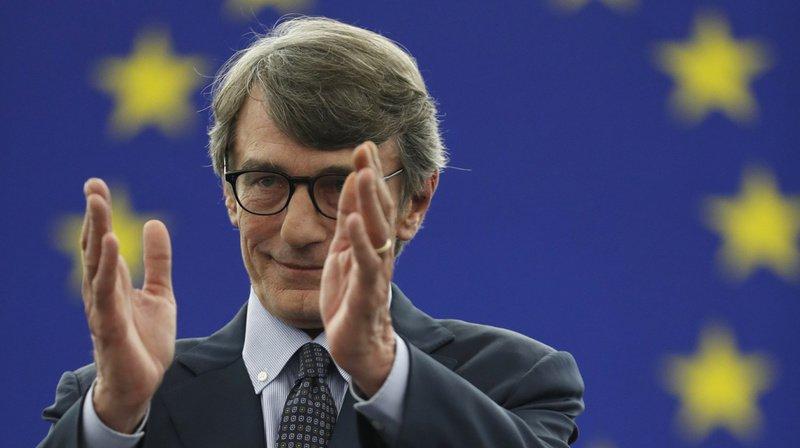 L'Italien David Sassoli a obtenu au 2e tour la majorité absolue des suffrages.