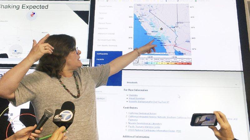 Etats-Unis: un séisme de magnitude 6,4 frappe la Californie et ranime le spectre du «Big One»
