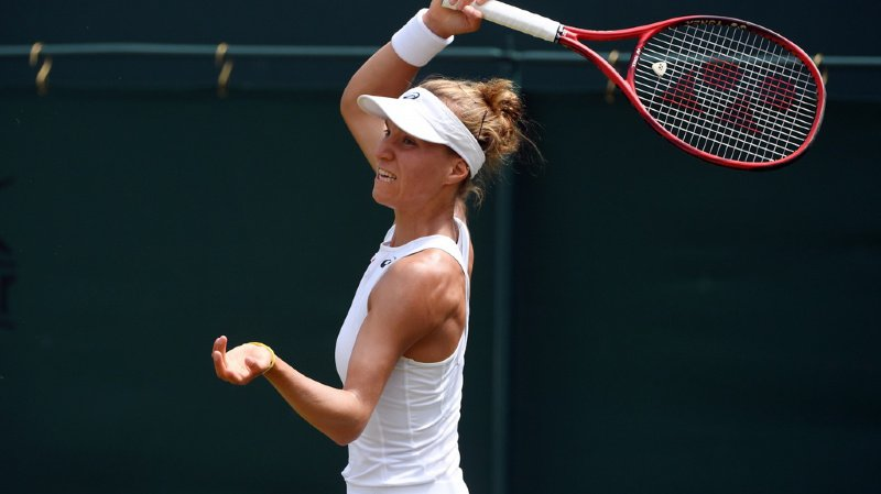 Viktorija Golubic n'a pas franchi le stade des seizièmes de finale de Wimbledon.