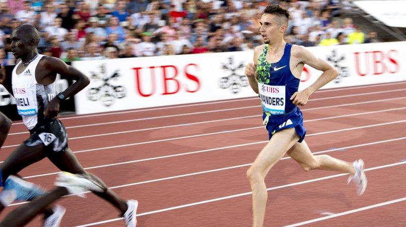 Le fondeur genevois Julien Wanders a rempli sa mission en réalisant son meilleur chrono sur 5000 m.