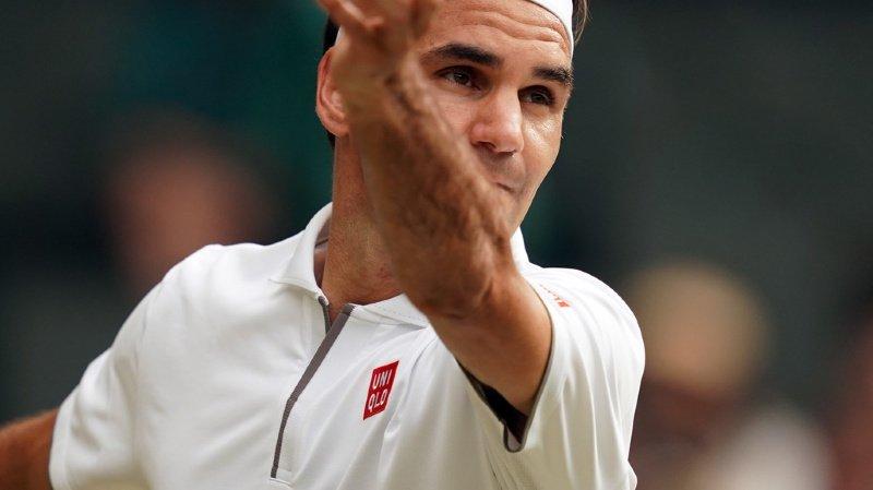 Tennis - Wimbledon: Roger Federer passe en 8e de finale