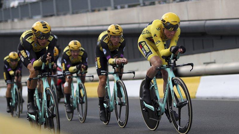 Cyclisme – Tour de France: l'équipe Jumbo du maillot jaune Teunissen remporte la 2e étape