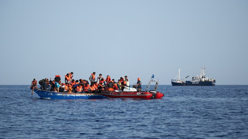 Ces dernières semaines, des dizaines de candidats à l'exil tentant de rallier l'Italie depuis l'ouest de la Libye ont été secourus au large de la Tunisie. (illustration)