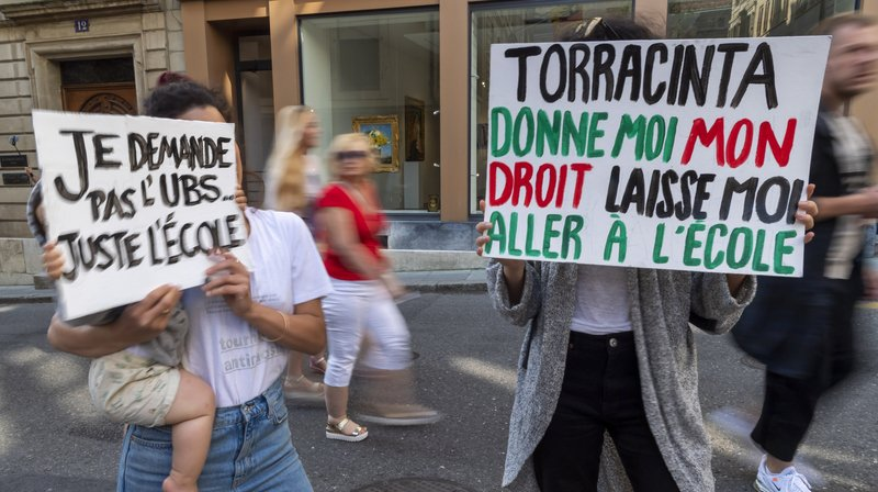 Des manifestations ont eu lieu ce mercredi à Genève.