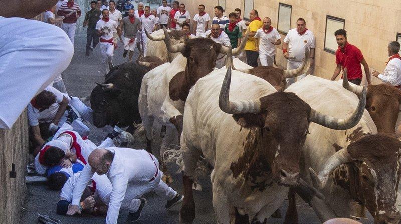 Espagne: les fêtes de Pampelune s'achèvent, 35 blessés dont huit encornés