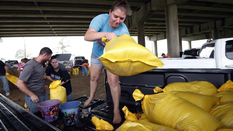 Les habitants sont encore traumatisés par le souvenir du puissant ouragan Katrina en août 2005.