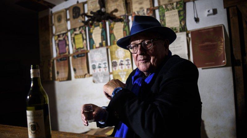 Pierre Keller au moment de quitter l'Office des vins vaudois.