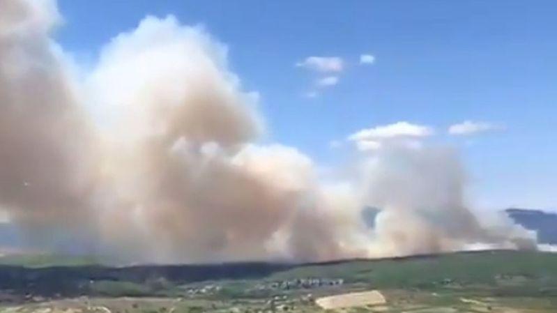France: un incendie ravage 170 hectares en Ardèche