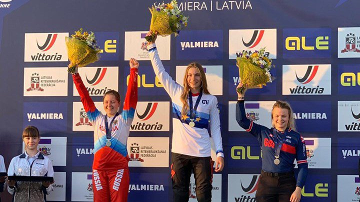 Zoé Claessens a une nouvelle fois eu les honneurs de la première marche du podium.