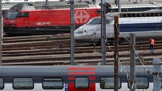 Plus aucun train ne circule depuis Genève en direction de la France
