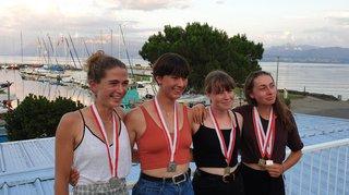 Championnats suisses: pluie de médailles pour le club d'aviron de Morges