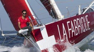 Voile: Alan Roura est parti de New York pour tenter de battre le record de la traversée de l'Atlantique nord