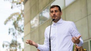 Football: le gardien espagnol Iker Casillas intègre le staff du FC Porto après son infarctus