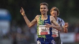 Athlétisme - Meeting de Lucerne: le Genevois Julien Wanders, 3e, épate lors du 3000 m