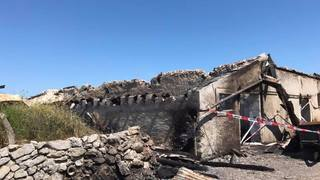 Mont-la-Ville: un chalet d'alpage détruit par le feu
