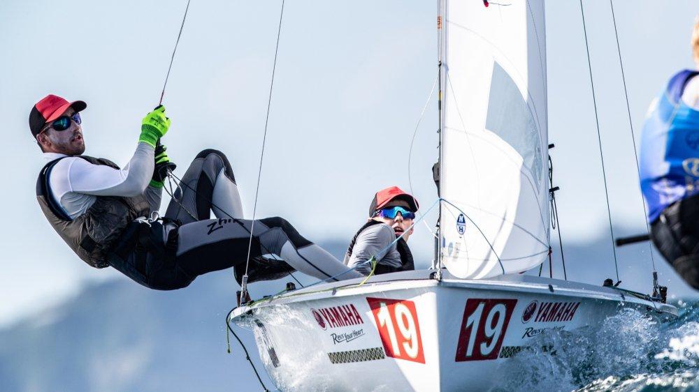 Grégoire Siegwart (à gauche) et Kilian Wagen auront une dernière opportunité de décrocher un ticket olympique à Gênes fin avril prochain.
