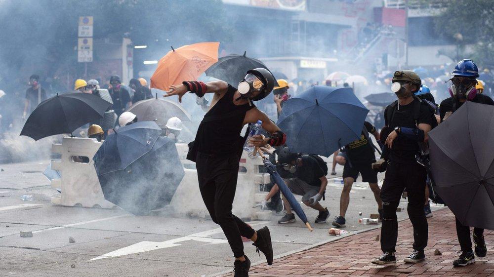 Hong Kong paralysé par la grève générale