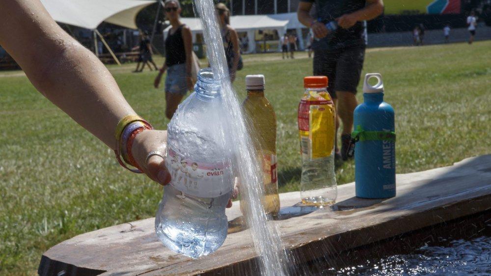 «L'eau peut être bue sans crainte»