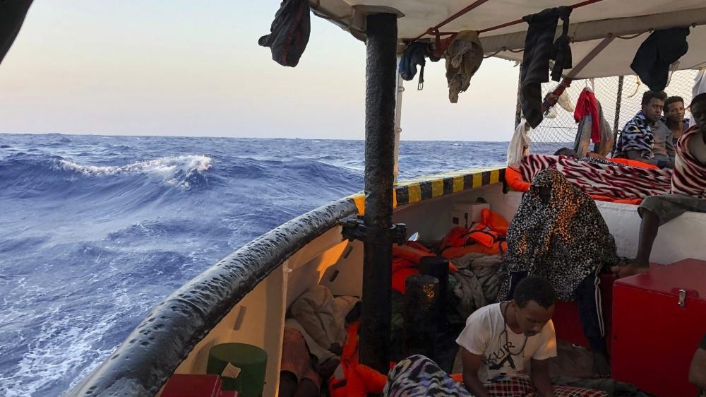 Les migrants de l'«Open Arms» répartis en Europe