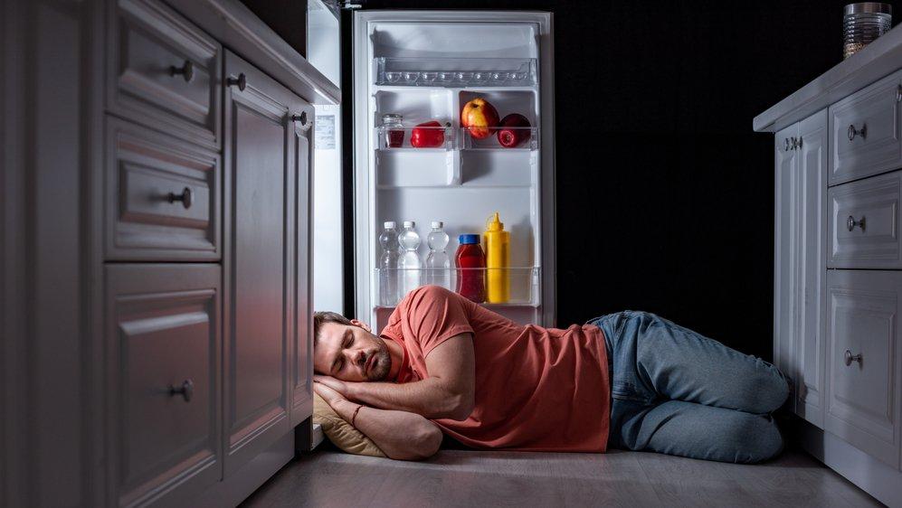 Lors des fortes chaleurs, d'autres alternatives existent plutôt que de dormir devant le frigo.