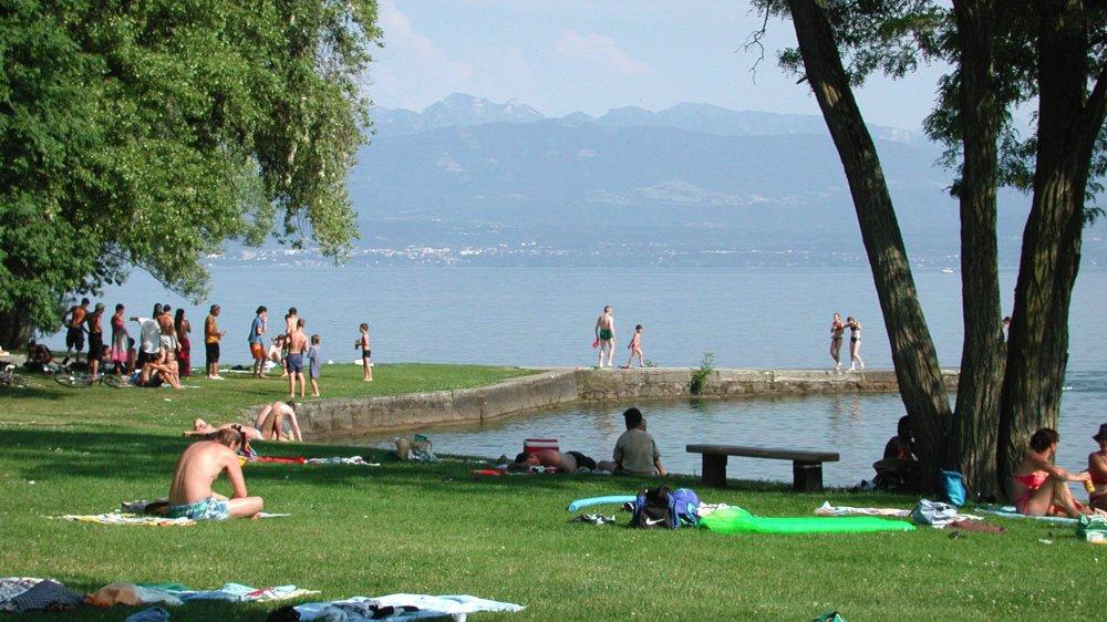 De fortes chaleurs sont attendues cette semaine. Mais le plan canicule n'est pas décrété par les autorités cantonales.