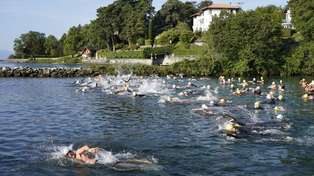 Plus de 250 nageuses et nageurs ont pris part à cette première édition.