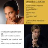 Concert 1: Lettres d'amour