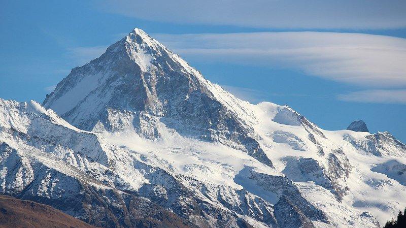 Valais: deux alpinistes allemands se tuent à la Dent Blanche