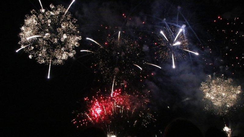 Genève: le quai des Eaux-Vives se prépare pour le feu d'artifice