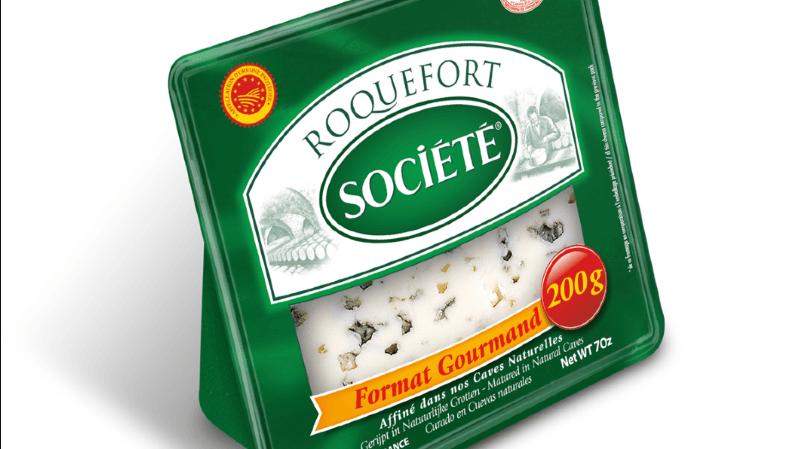 """Rappel de produit: salmonelles détectées dans un roquefort de la marque """"Société"""""""