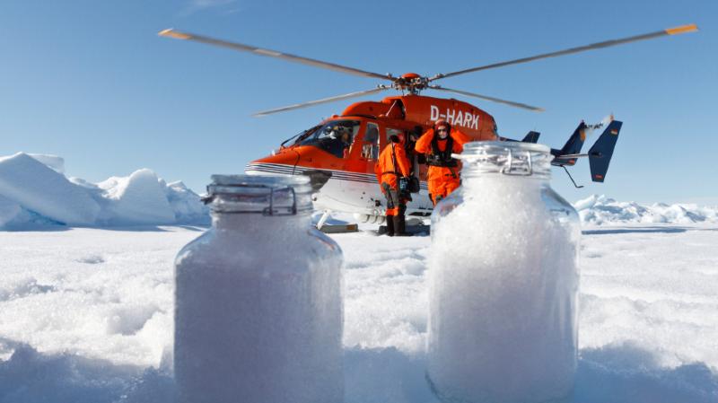 Environnement: des microplastiques se retrouvent jusque dans la neige de l'Arctique