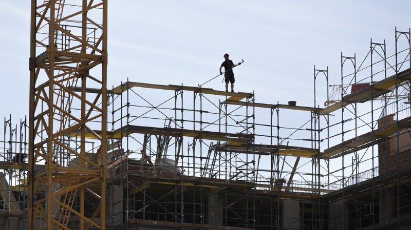 Un ouvrier est mort dans l'effondrement de la structure. (illustration)