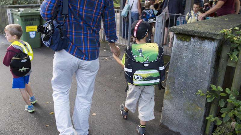 Les enfants ont repris l'école lundi dans de nombreux cantons alémaniques. (illustration)