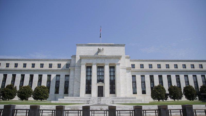 La banque centrale américaine (Fed) a baissé ses taux d'intérêt d'un quart de point mercredi. (Illustration)
