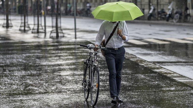 Les fortes précipitations dues aux orages de vendredi et samedi n'ont pas arrosé la Suisse de la même manière partout. (Illustration)