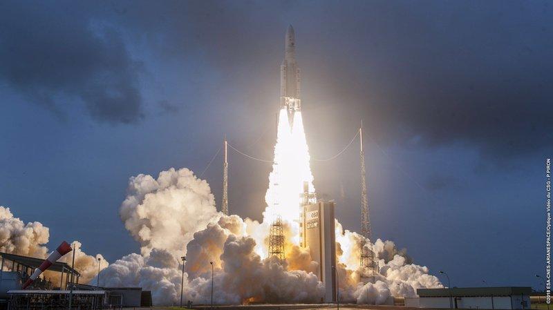 Espace: avec du matériel suisse à bord, la fusée Ariane 5 a été lancée sans incident
