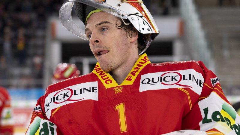 Hockey: gardien de Bienne et de l'équipe nationale, Jonas Hiller rangera ses patins en fin de saison