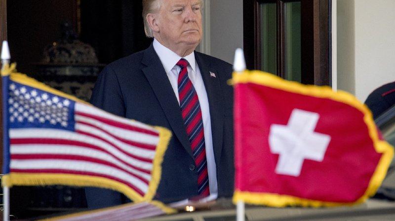 Fête nationale: Donald Trump envoie un message à la Suisse