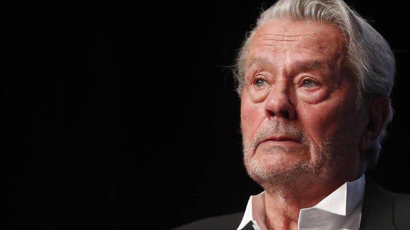 Alain Delon, 83 ans, est en convalescence en Suisse (archives).